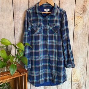 OLD NAVY Flannel Plaid Dress